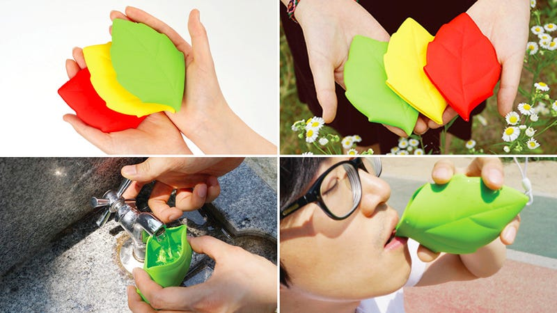 Drink Like a Pixie WIth This Adorable Leaf-Shaped Cup