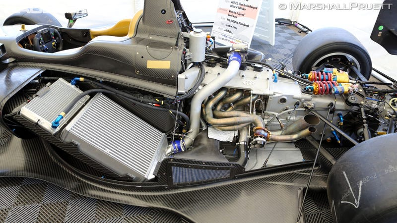 First Test For IndyCar's New Turbo Training Series Car