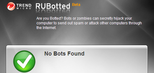 RUBotted Checks Your Computer for Zombie Bots