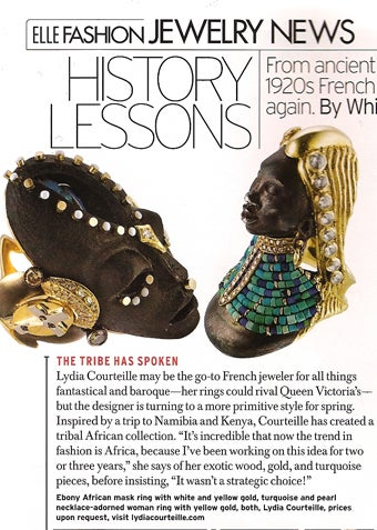 More Culturally Insensitive Jewelry, Courtesy Of Elle