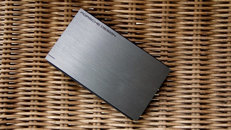 Every Hard Drive Should Be As Minimal As LaCie's Porsche Drives