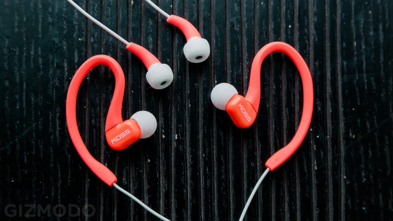 Koss Fit Series Ears On: Big Sound from Tiny, Cheap Headphones