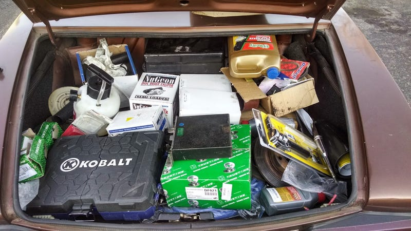 What junk is in your trunk?