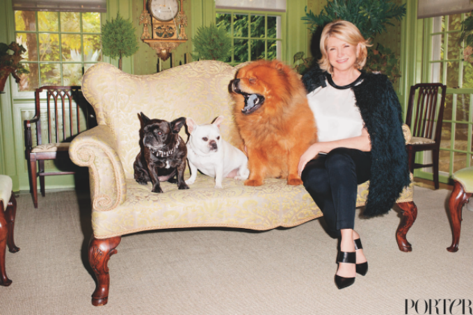 Martha Stewart Posed for Terry Richardson For Some Damn Reason