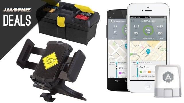 Deals: Automatic Driving Assistant, Smartphone Dash Mounts, Toolbox
