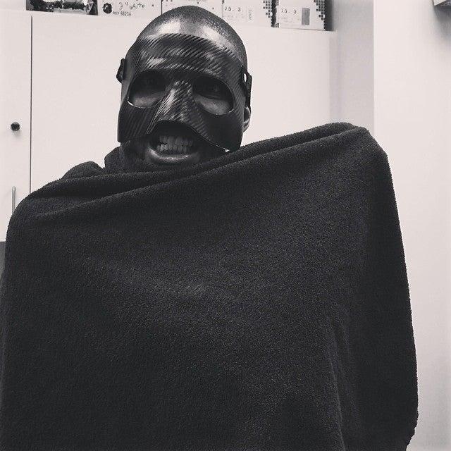 Chris Bosh Takes LeBron's Mask, Becomes Boshman
