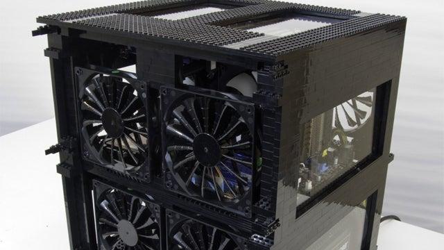 Black Lego PC Mod Has Loftier Tasks Than Just Playing Doom