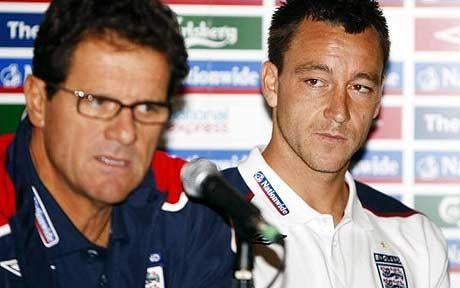Terry Out As England Captain