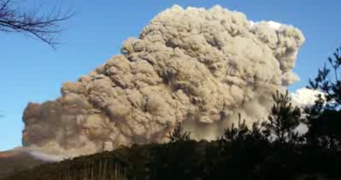 A Volcano's Fiery Eruption Caught on Tape