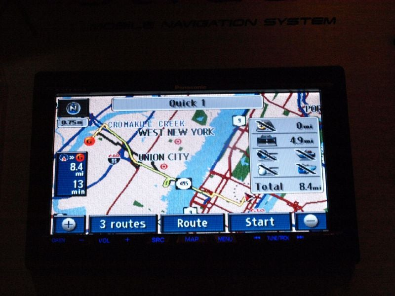 Is Panasonic There Yet? Strada In-Car GPS Debuts But Where's The Portable?