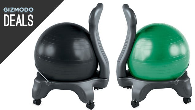 Balance Ball Chairs for the New Year, Discounted Slingbox, More Deals