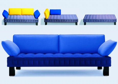 Materassi: Transformer Furniture with Plug-In Parts