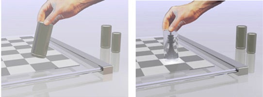 Alice Chess Set Features Pieces That Are Magically Transparent