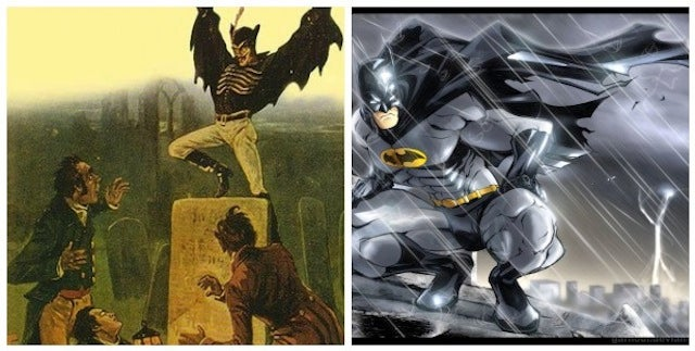 Did a Victorian-era penny dreadful inspire the creation of Batman?