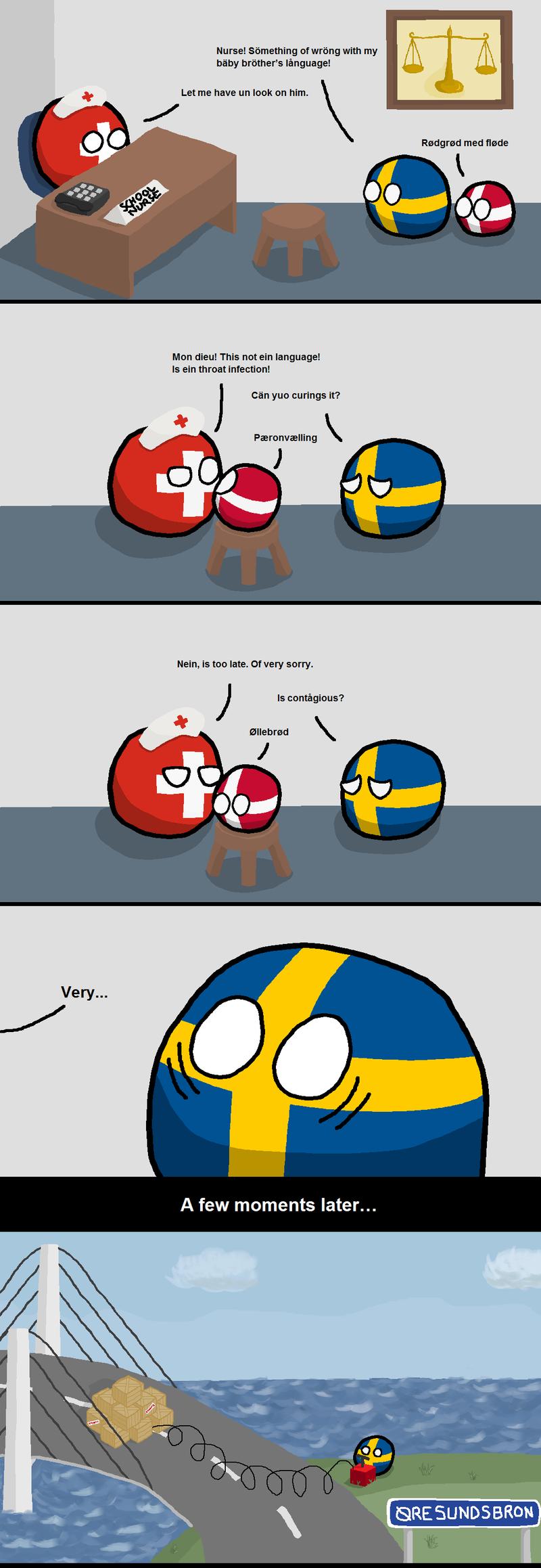 Daily Polandball: Speech Issues
