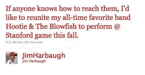 Jim Harbaugh Knows What The Kids Like