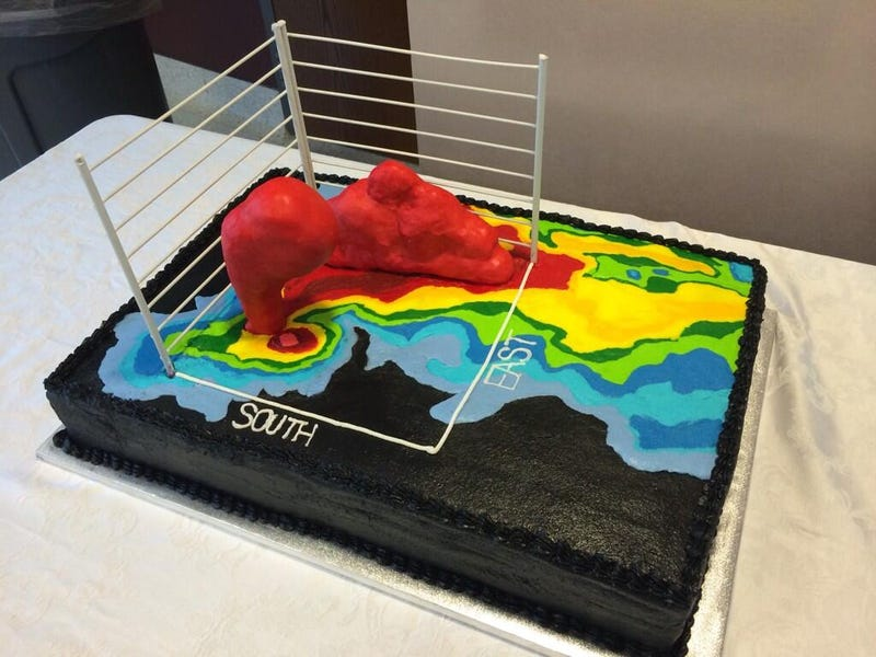 Meteorologist Makes the Best, Weather-Geekiest Cake Ever