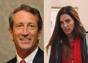 Confirmed: Sanford Canoodled Argentine Lover in Florida Last Weekend