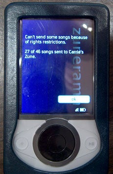 Zune 58% Welcomes You to the Social