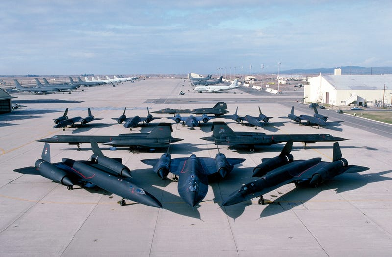 SR-71 Parking: Like Car Parking, But More Awesome