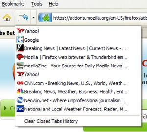 how to get firefox to warn close multiple tabs