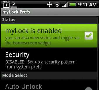 MyLock Is an Alternative Lock Tool for Android Phones