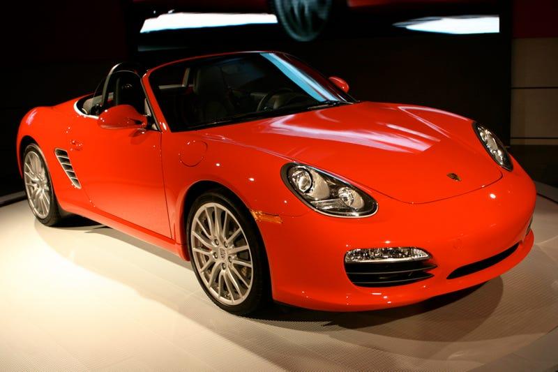 2009 Porsche Boxster Revealed Live