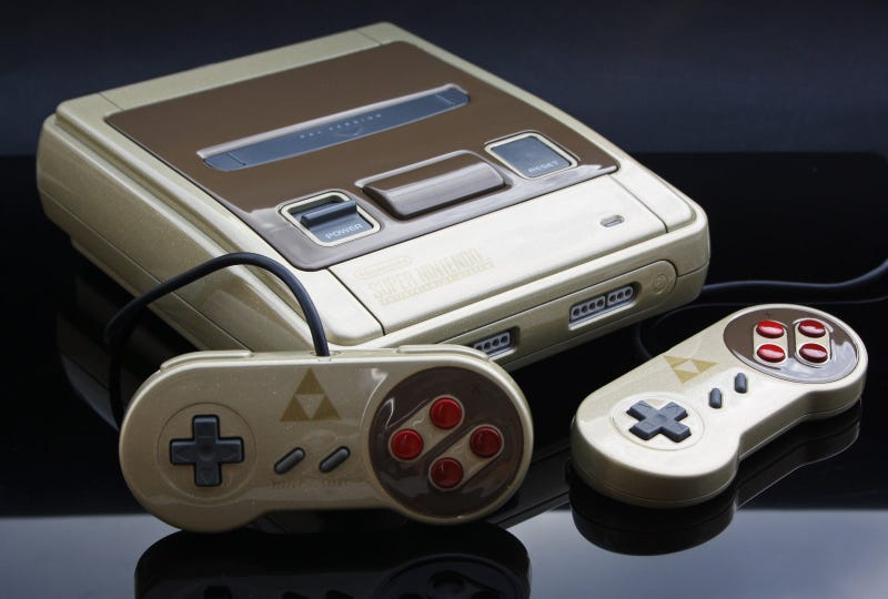 Nintendo, Steal This SNES Paint Scheme And Sell It, Please