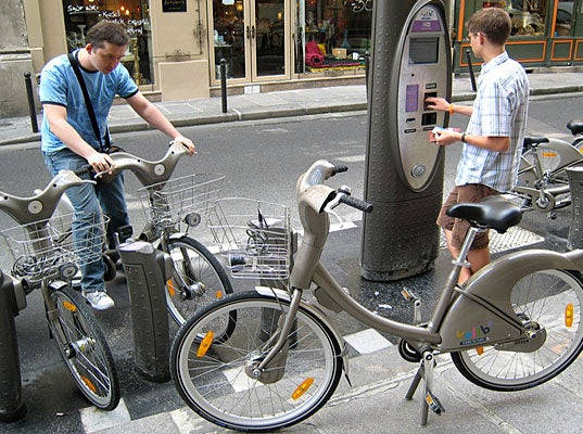 New York Set to Get Ultra-Techy Bike-Sharing Scheme