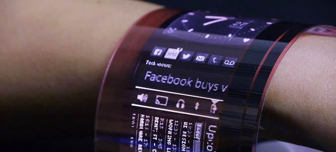 World's First Fully Organic Flexible OLED Will Wrap Around Your Wrist