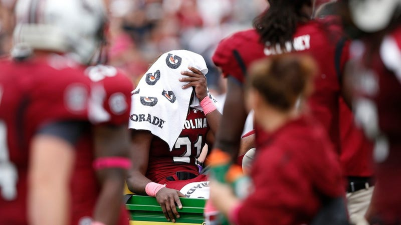 Bristolmetrics: Marcus Lattimore's Injury Tests SportsCenter's Policy On Showing Really Gross Things