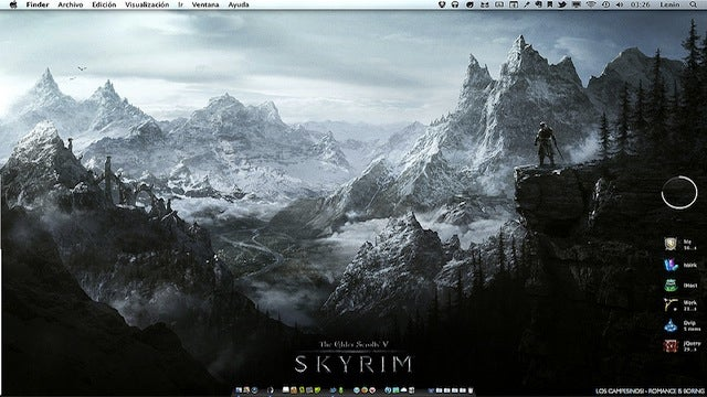 The Skyrim Desktop