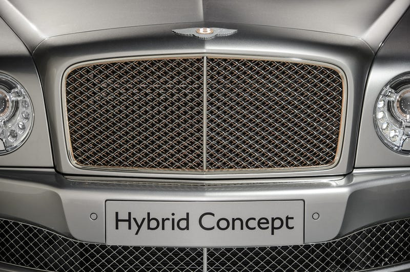 Bentley's Plug-In Hybrid Concept Is A Copper-Trimmed Torque Monster