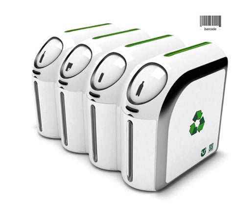 Barcode Scanner Bins Make Recycling Fun For Nerds