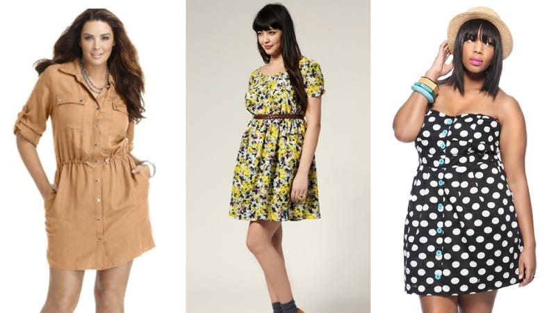 A Very Nice Roundup Of Plus-Size Spring Dresses