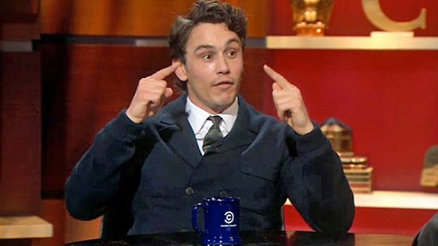 James Franco Tells Colbert That James Franco is Playing James Franco in the Movie James Franco