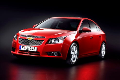 Chevy Cruze Unveiled in Paris