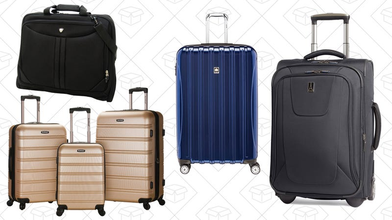 Today's Best Deals: Computing Gear, Luggage, Back-to-School Snacks, and More