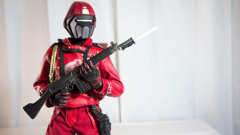 Cobra's Elite Makes the Miniature Red Leather Jacket Look Good