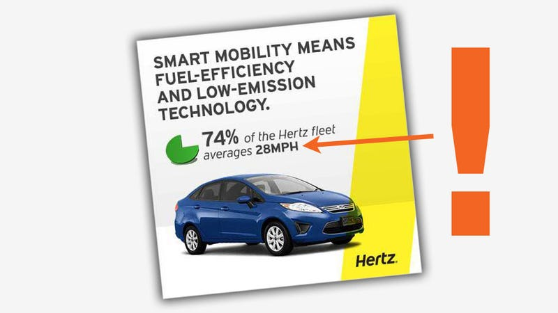 Typo In Hertz Ad Is Funny And Probably Close To True