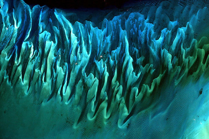 Gorgeous underwater sand dunes (or how Earth never ceases to amaze me)