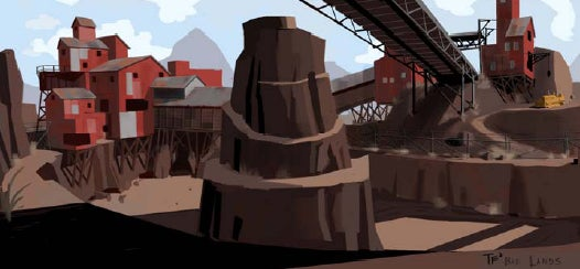 Before They Were Heroes: the Art of Team Fortress 2