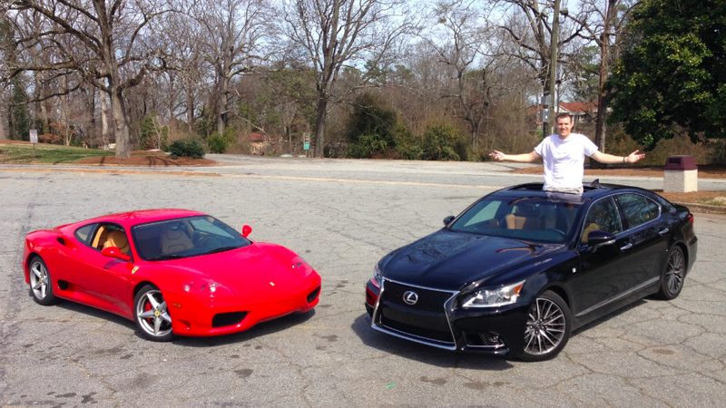 Would You Rather: Used Ferrari 360 Or New Lexus LS460?