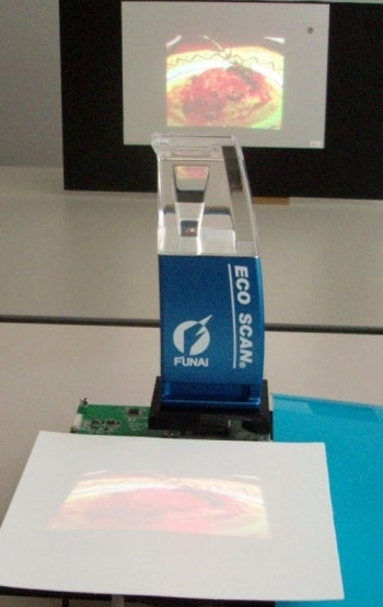 Funai Touch Sensitive Image Projectors Could Arrive By 2010