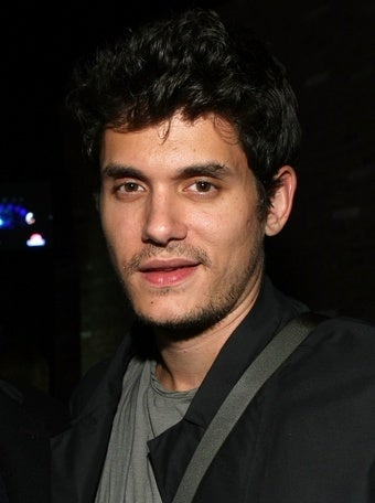 John Mayer Doesn't Go Out Unless He's Covered in Kisses