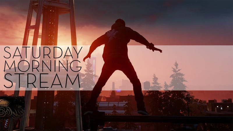 The Saturday Morning Stream Plays Infamous: Second Son (Stream Over)