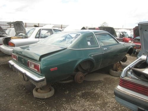 1979 Plymouth Volare Down On The Junkyard