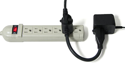 The Power Strip Space Saver