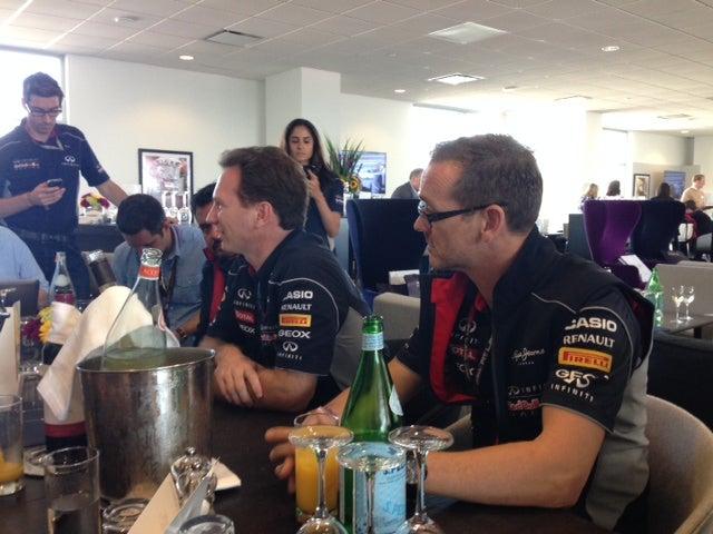 Red Bull's Christian Horner Calls Traction Control Claims 'Bullshit'