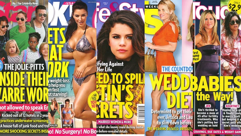 This Week in Tabloids: Angelina and Brad's 'Bizarre' Parenting Methods